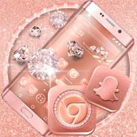 Rose Gold Launcher Theme on 9Apps