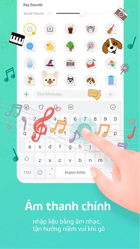 Bàn phím Facemoji: Bàn phím screenshot 4