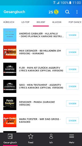 Karaoke – unbegrenzt Karaoke songs singen screenshot 2