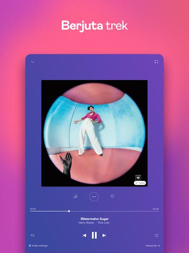 Deezer - Muzik, Senarai Main & Podcast screenshot 9