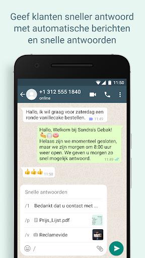 WhatsApp Business screenshot 2