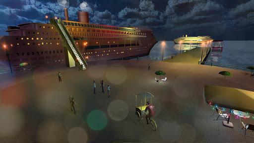 Transport Cruise Ship Game Passenger Bus Simulator स्क्रीनशॉट 5