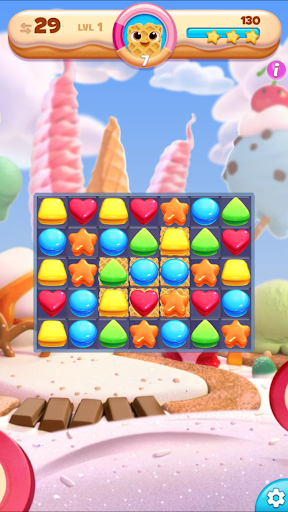 Cookie Jam Blast™: combinar 3 e quebra-cabeça screenshot 18