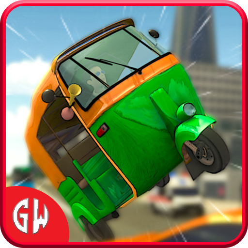 Mountain Auto Tuk Tuk Rickshaw:新しいゲーム2021 icon