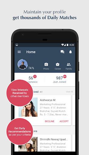 Jeevansathi.com -Top Matrimonial, Matchmaking App screenshot 1