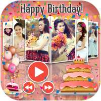 Birthday Slideshow with Music on 9Apps