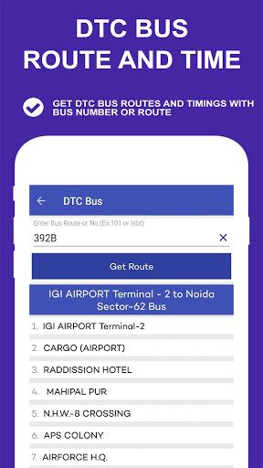 Delhi Metro Route Map and Fare скриншот 7
