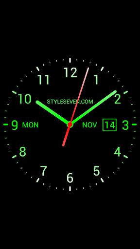 Analog Clock Live Wallpaper-7 screenshot 6