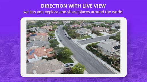 Live Street Map View 2021 - Earth Navigation Maps screenshot 2