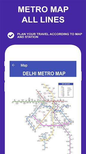 Delhi Metro Route Map and Fare скриншот 5