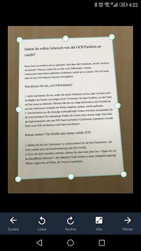 CamScanner-Kostenloser PDF- und Dokumentenscanner screenshot 8
