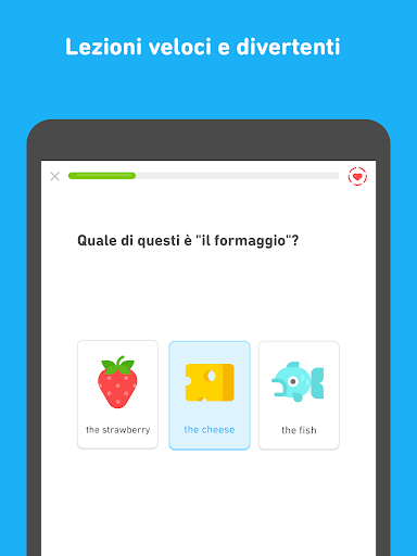 Impara l'inglese con Duolingo screenshot 7
