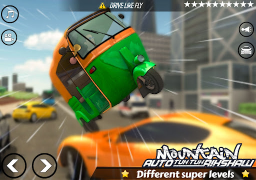 Mountain Auto Tuk Tuk Rickshaw:新しいゲーム2021 screenshot 11