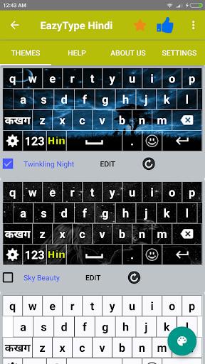 Quick Hindi Keyboard Emoji & Stickers Gifs screenshot 5