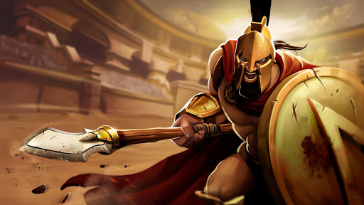 Gladiator Heroes - Fighting and strategy game screenshot 5