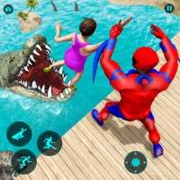GT Superhero Police Robot Spider Animal Rescue on 9Apps