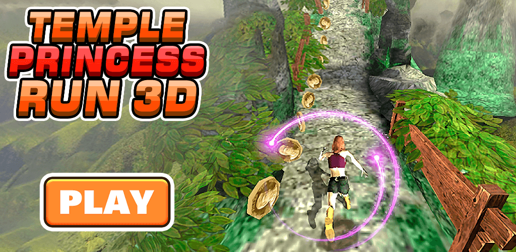 Temple Princess Run 3D screenshot 1