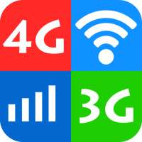 WiFi, 5G, 4G, 3G Speed Test -Speed Check - Cleaner on 9Apps