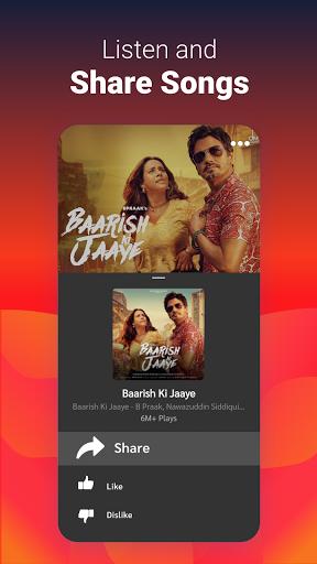 Gaana Music Hindi Song Free Tamil Telugu MP3 App screenshot 3