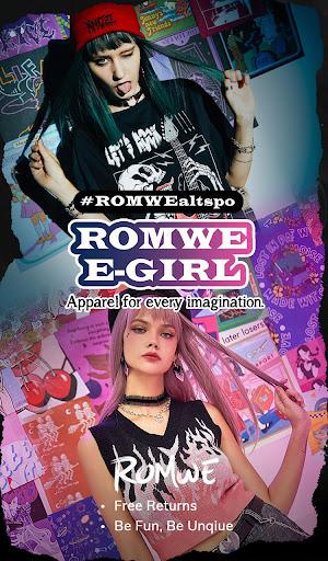 ROMWE -Online Fashion Store screenshot 1