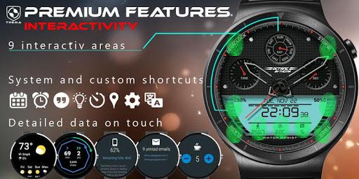 Octane Watch Face & Clock Widget скриншот 5