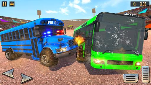 Police Bus Demolition Derby screenshot 1