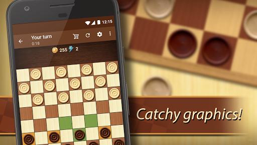 Checkers - strategy board game screenshot 1