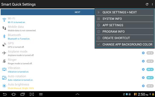 Configuración rápida screenshot 19