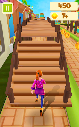 Royal Princess Island Run : Endless Running Game screenshot 5