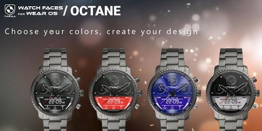 Octane Watch Face & Clock Widget скриншот 2
