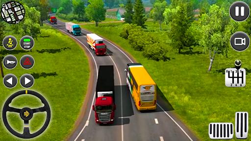 publiczny autobus transport symulator trener gra screenshot 6