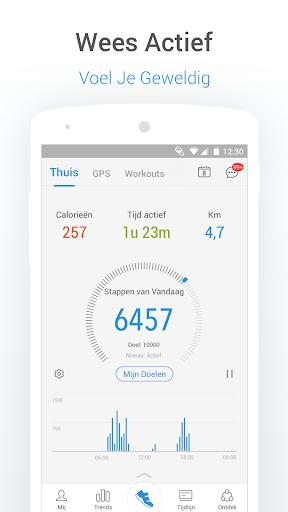 Stappenteller Calorieën en Gewichtsverlies Tracker screenshot 1