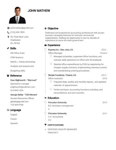 Resume Builder App Free CV maker 2021 - PDF Format screenshot 8