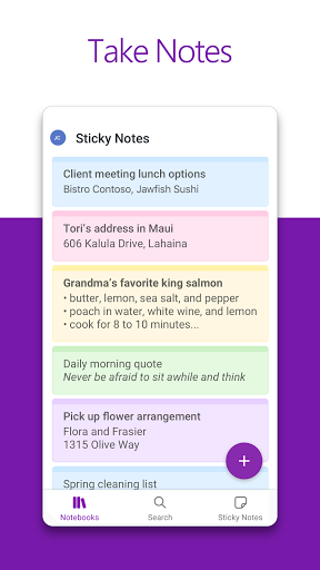Microsoft OneNote: Save Ideas and Organize Notes स्क्रीनशॉट 2
