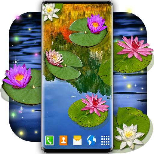 Water Lily Live Wallpaper 🌺 Flowers Wallpapers