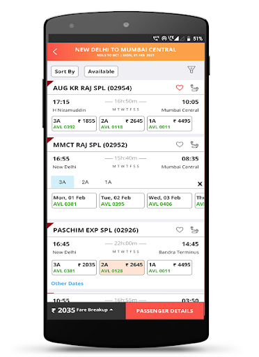 IRCTC Rail Connect screenshot 5