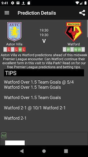 Sure Bet Predictions screenshot 7