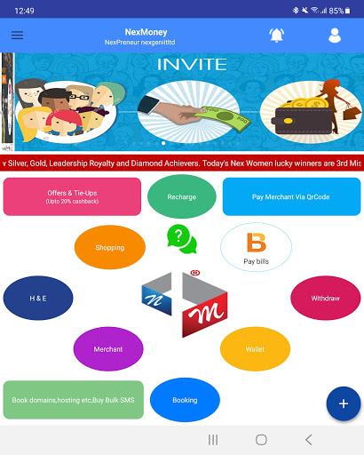 NexMoney App Wallet: Innovative Ways Of Earning... скриншот 14