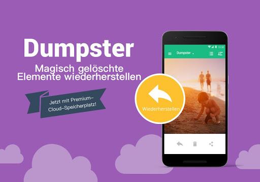 Dumpster: Rette gelöschte Bilder, Videos & Dateien screenshot 10