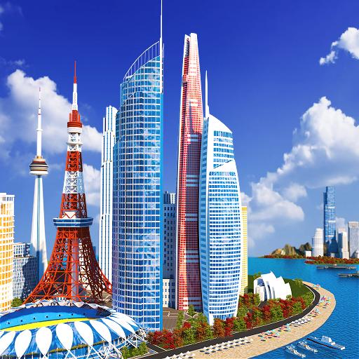 Designer City: Juego de construcción icon