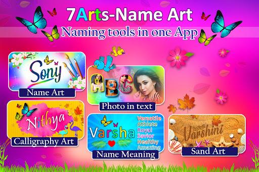 Name Art Photo Editor - 7Arts Focus n Filter 2021 screenshot 9