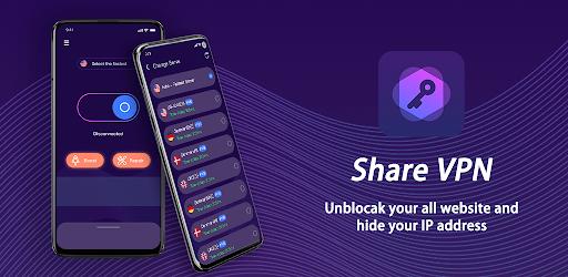 Share Vpn-Faster&Safer, Unlimited Free vpn screenshot 5
