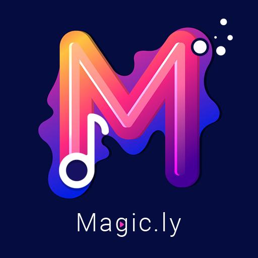Magic.ly™ - Magic Video Maker & Video Editor icon