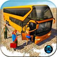 Uphill Bus Pelatih Mengemudi Simulator 2018 on 9Apps