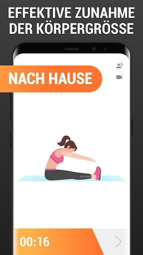 Mehr Körpergröße - Größer werden, Workout zuhause screenshot 4