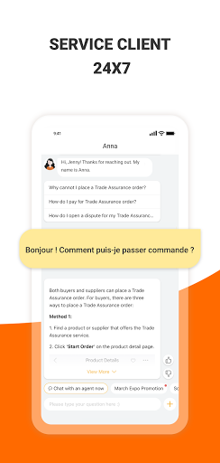 Alibaba.com - leader du e-commerce en ligne B2B screenshot 7