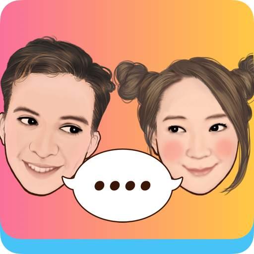 MojiPop - My personal Emoji Maker