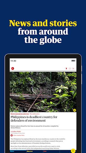 The Guardian - World news, Sport and Finance screenshot 8