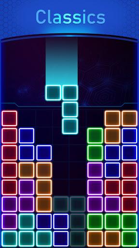 Glow Block Puzzle screenshot 1