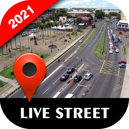 Live Street Map View 2021 - Earth Navigation Maps icon